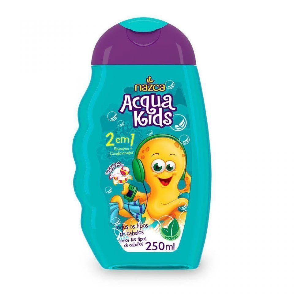Aqcua Kids Shampoo 2 em 1 Tutti Frutti