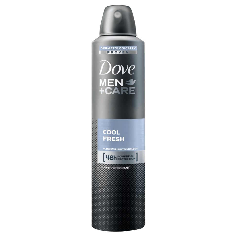 Antitranspirante Aerosol Dove Men+Care Cool Fresh