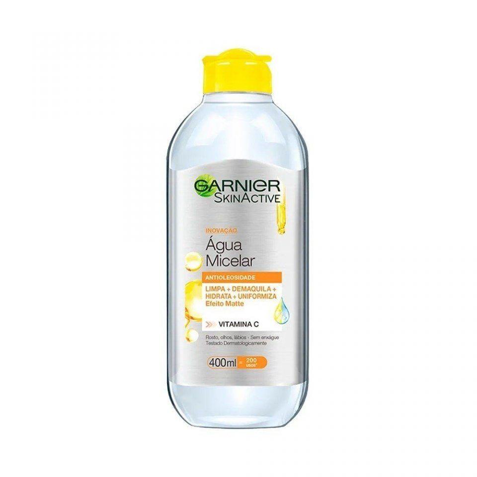 Água Micelar Antioleosidade Garnier SkinActive Vitamina C